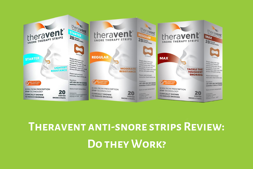 Theravent Anti-Snore Strips Review