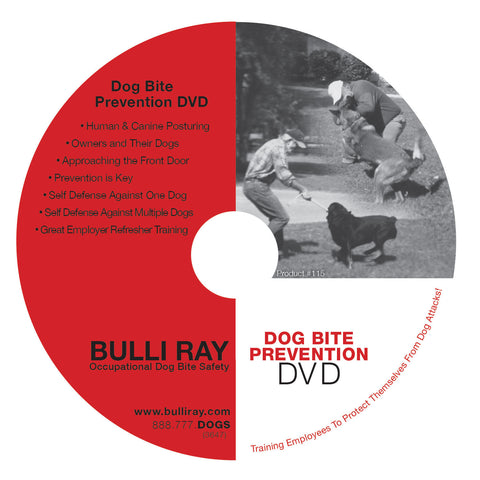 #115 Dog Bite Prevention DVD