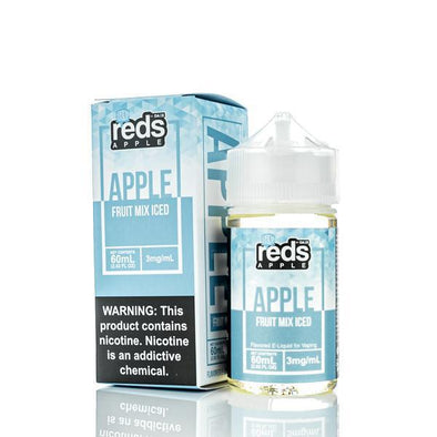 ICED FRUIT MIX - Reds Apple E-Juice - 7 DAZE - 60ml