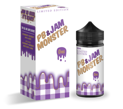 PB & Jam Monster Grape - Jam Monster - 100ml