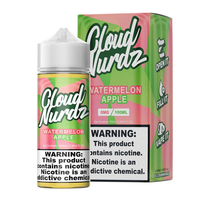 Watermelon Apple - Cloud Nurdz - 100ml