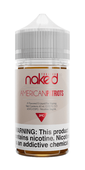 American Patriots - Naked 100 Tobacco - 60ml