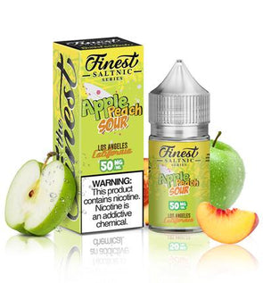 Apple Peach Sour - The Finest SaltNic Series - 30ml