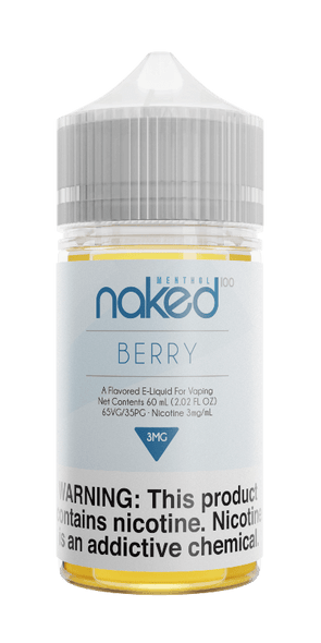 Berry - Naked 100 Menthol - 60ml