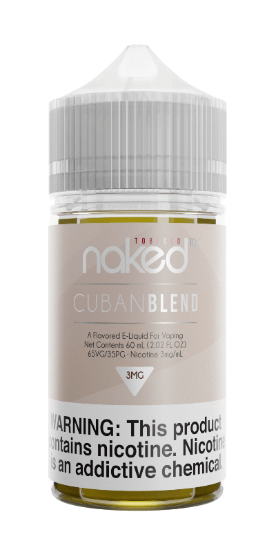 Cuban Blend - Naked 100 Tobacco - 60ml