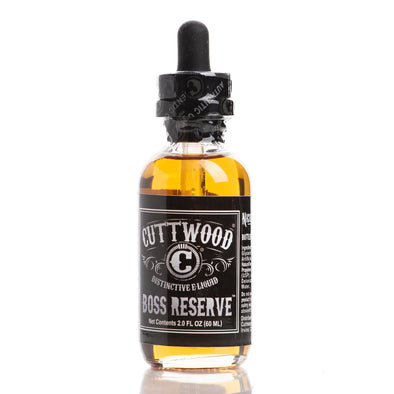 Boss Reserve - Cuttwood E-Liquids - 60ml