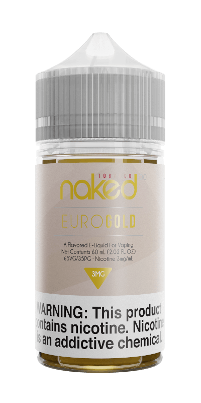 Euro Gold - Naked 100 Tobacco - 60ml