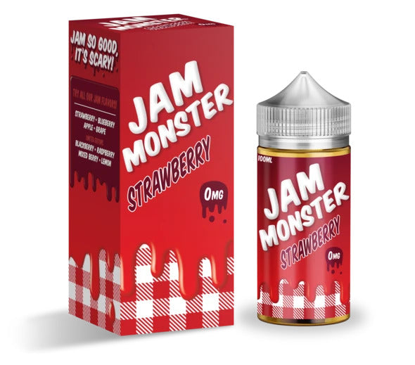 Strawberry - Jam Monster - 100ml