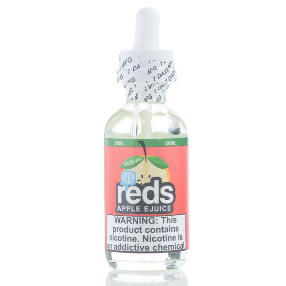 ICED GUAVA - Reds Apple E-Juice - 7 Daze - 60ml
