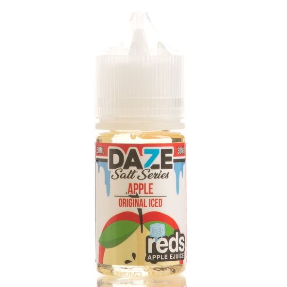 ICED APPLE - Reds Apple E-Juice - 7 Daze SALT - 30ml