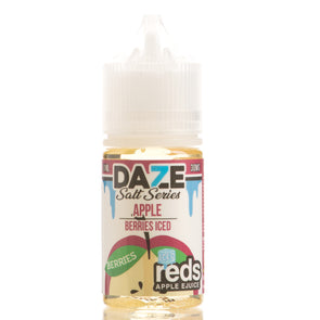 Berries Iced Reds Apple eJuice - 7 Daze Salt Series - 30mL