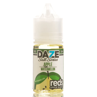 Watermelon Reds Apple eJuice - 7 Daze Salt Series - 30mL