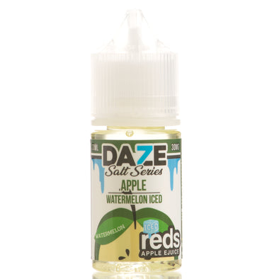 Watermelon Iced Reds Apple eJuice - 7 Daze Salt Series - 30mL