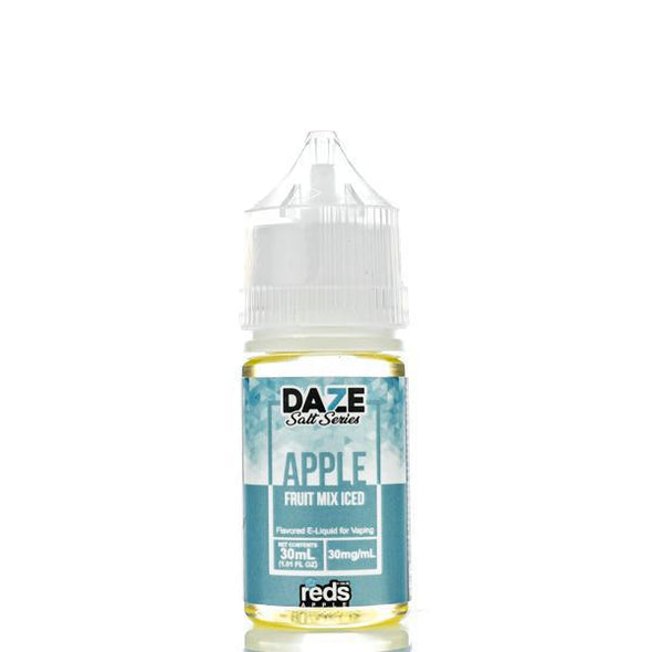 ICED FRUIT MIX - Reds Apple E-Juice - 7 Daze SALT - 30ml