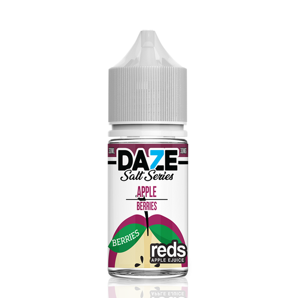 BERRIES Reds Apple E-Juice - 7 Daze SALT - 30ml