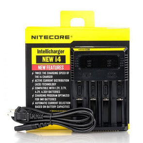 Nitecore I4 Battery Charger (4-Bay)