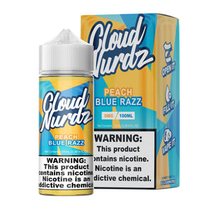 Peach Blue Razz - Cloud Nurdz - 100ml