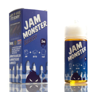 Blueberry - Jam Monster E-Liquids - 100mL