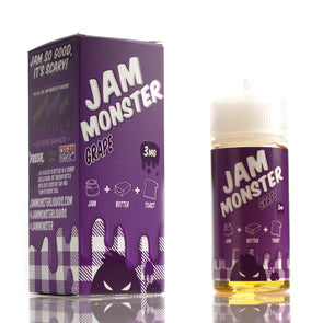 Grape - Jam Monster E-Liquids - 100mL