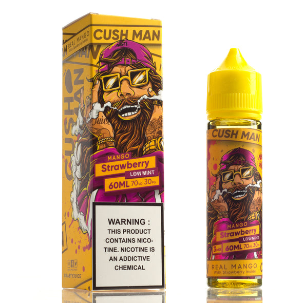 Cush Man Mango Strawberry - Nasty Juice - 60mL