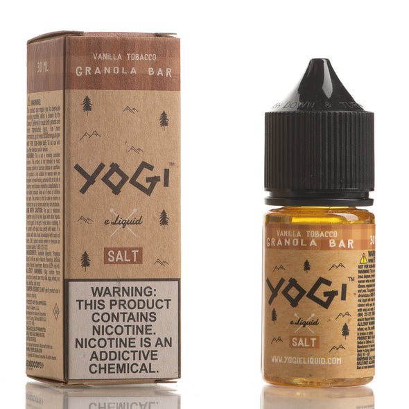 Vanilla Tobacco Granola Bar - YOGI E-Liquid Salt - 30mL