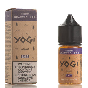 Blueberry Granola Bar - YOGI E-Liquid Salt - 30mL