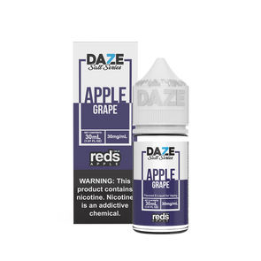GRAPE Reds Apple E-Juice - 7 Daze SALT - 30ml