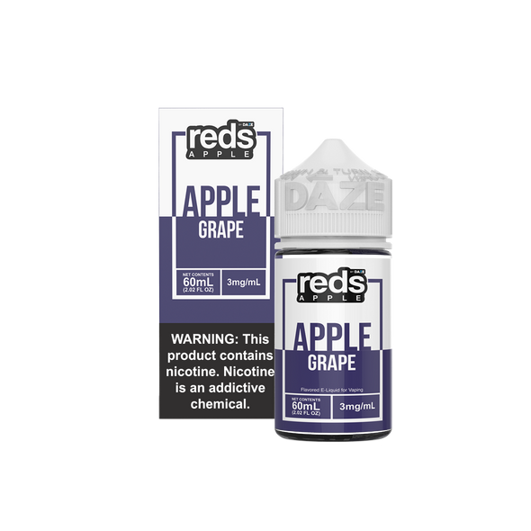 GRAPE - Reds Apple E-Juice - 7 Daze - 60ml