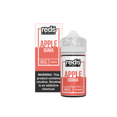 GUAVA - Reds Apple E-Juice - 7 Daze - 60ml