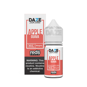 GUAVA Reds Apple E-Juice - 7 Daze SALT - 30ml