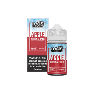 ICED APPLE - Reds Apple Iced E-Juice - 7 Daze - 60ml