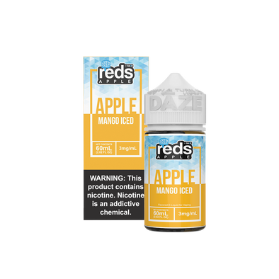 ICED MANGO - Reds Apple E-Juice - 7 Daze - 60ml