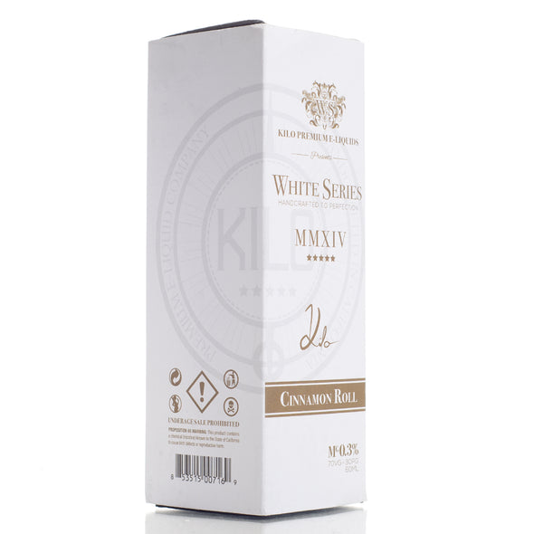 Cinnamon Roll - Kilo White Series - 60ml