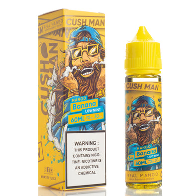 Cush Man Mango Banana - Nasty Juice - 60mL