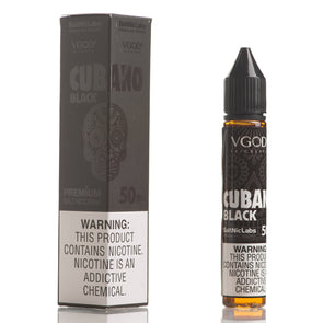 Cubano Black - VGOD SaltNic - 30mL