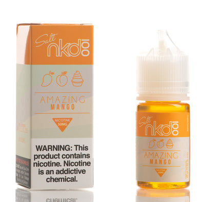 Amazing Mango - Nkd 100 Salt E-Liquid - 30mL