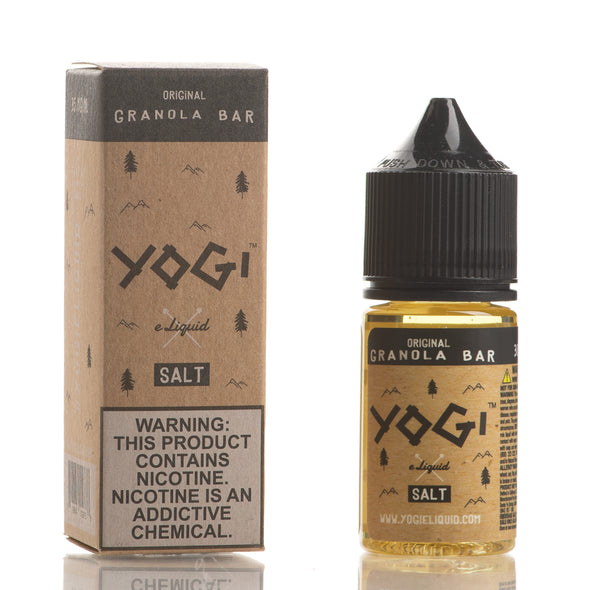 Original Granola Bar - YOGI E-Liquid Salt - 30ml