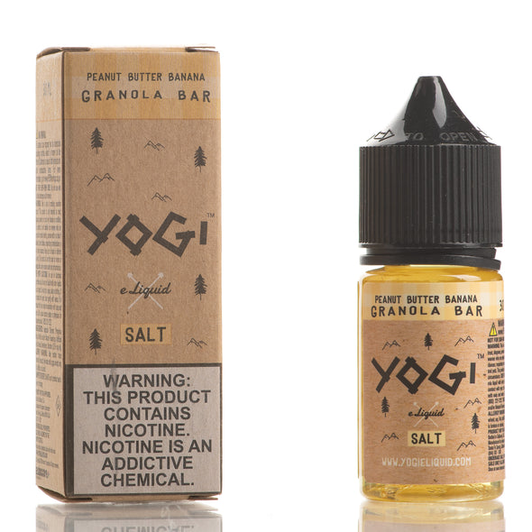 Peanut Butter Banana Granola Bar - YOGI E-Liquid Salt - 30ml