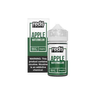 WATERMELON Reds Apple E-Juice - 7 Daze - 60ml