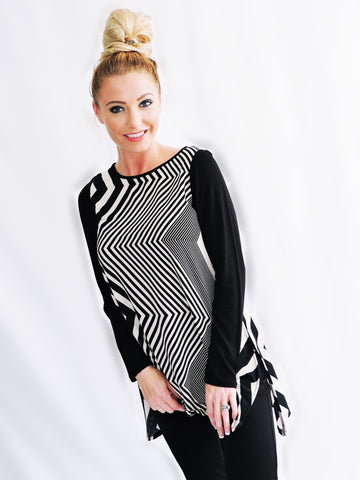 Zig Zag Top - Klutch Trends