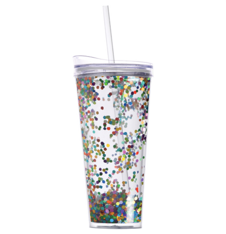 22oz Multi Confetti Tumbler - Klutch Trends