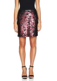 Sequin Mini Skirt - Klutch Trends
