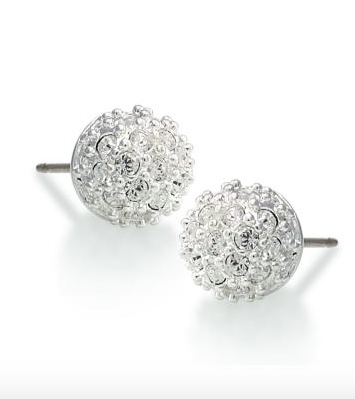 Crystal Pave Ball Earring - Klutch Trends