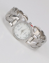 Knotted Silver Watch - Klutch Trends