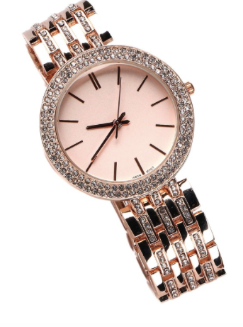 Rose Gold Watch - Klutch Trends
