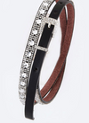 Crystal Studded Belt - Klutch Trends