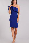 One Shoulder Dress - Klutch Trends
