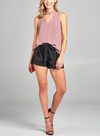Chocker Mauve Top - Klutch Trends