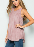 Crisscross Back Tank - Klutch Trends
