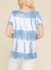 Tie Dye Knotted Tunic - Klutch Trends